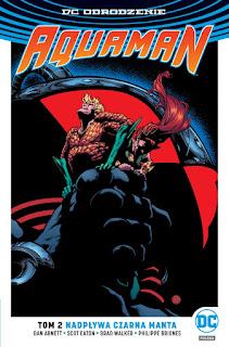 Aquaman tom 2: Nadpływa Czarna Manta okładka