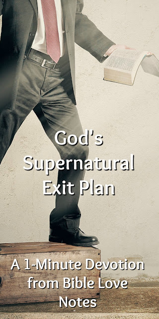 First Degree Sin and God's Exit Plan
