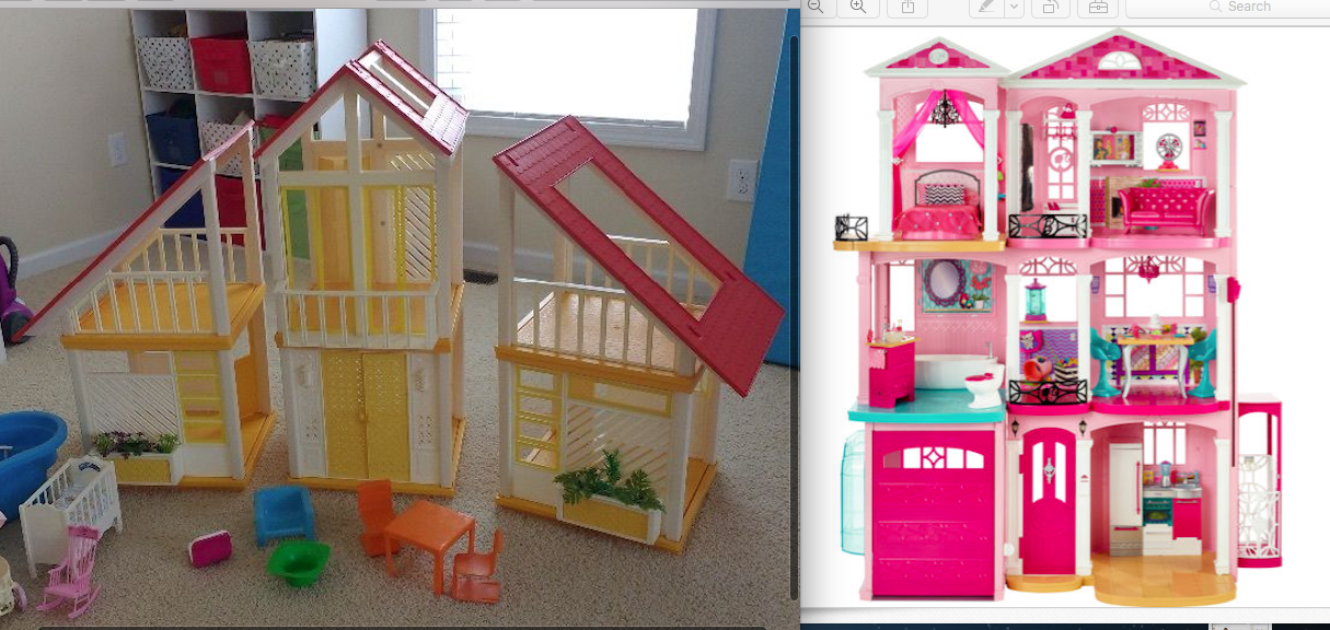The One And Only Mattel Barbie 1978 A Frame Dreamhouse Website For Devoted Fans