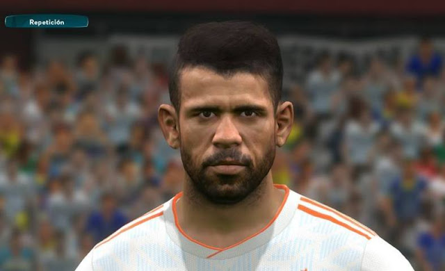 Face Diego Costa PES 2017