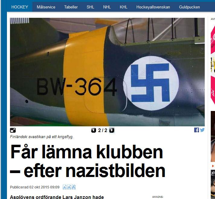 Svenskt helgon salde stridsplan