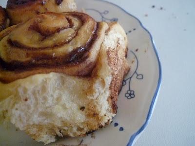 cinnamon rolls sin lacteos receta