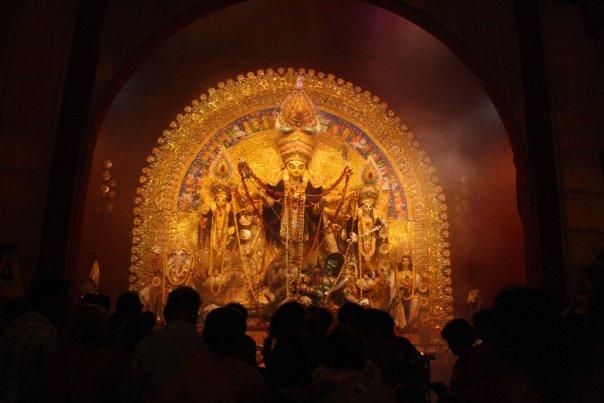 Idol of Goddess Durga