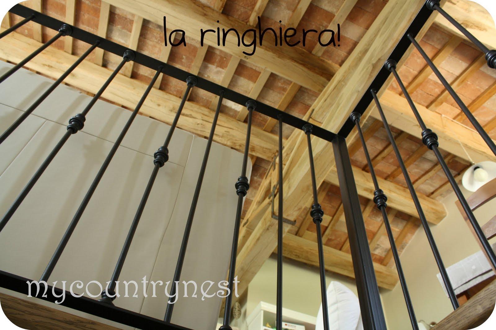 Colore Ringhiera Ferro Interna my country nest: la ringhiera interna!