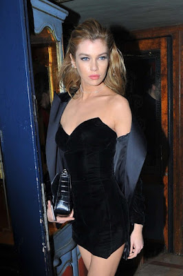Stella Maxwell at Laperouse Restaurant