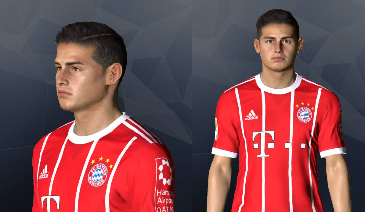PES 2017 James Rodriguez New Face by Shenawy