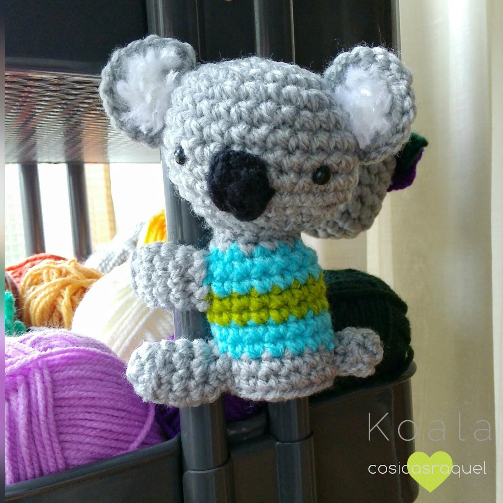 Patron Amigurumi De Koala : cosicasraquel: Koala Amigurumi