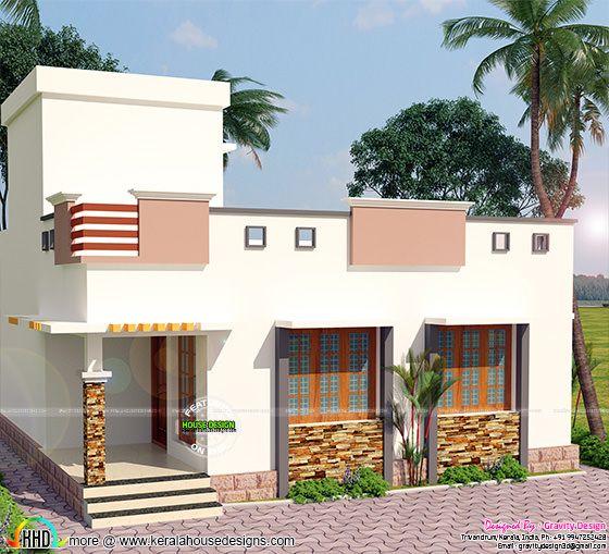 900 sq-ft 2 bedroom modern home