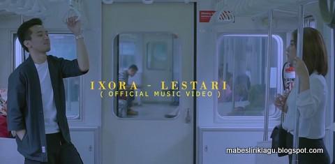 Lirik Lagu Lestari Ixora