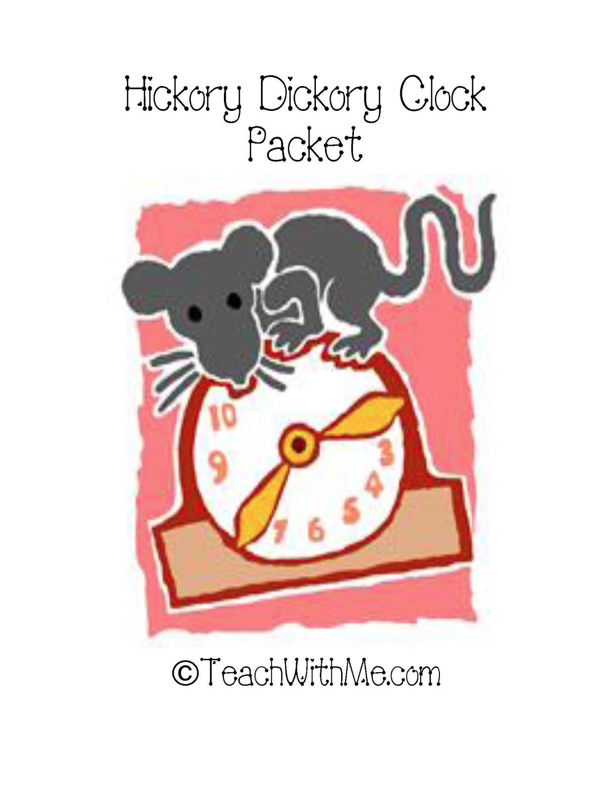 Hickory Dickory Clock Activities