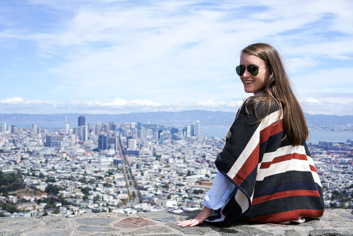 Krista Robertson, Covering the Bases, Travel Blog, NYC Blog, Preppy Blog, Style, Fashion Blog, Fashion, Style, Travel Post, Travel, San Francisco Trip, California, Twin Peaks SF, SF Tourist Spots, SF restaurants, SF Dessert Places, Alamo Square, Painted Ladies