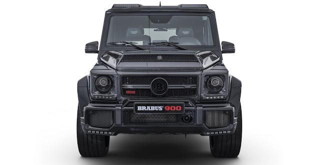 900馬力にカスタムされた「メルセデスAMG G65」をブラバスが発表!限定10台、9000万円近い価格に。ブラバス900 ONE of TEN