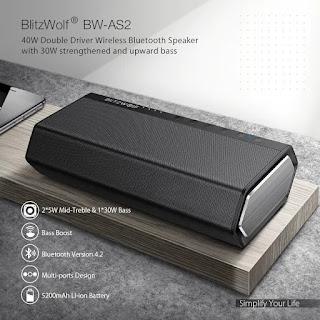 BlitzWolf® BW-AS2 Details