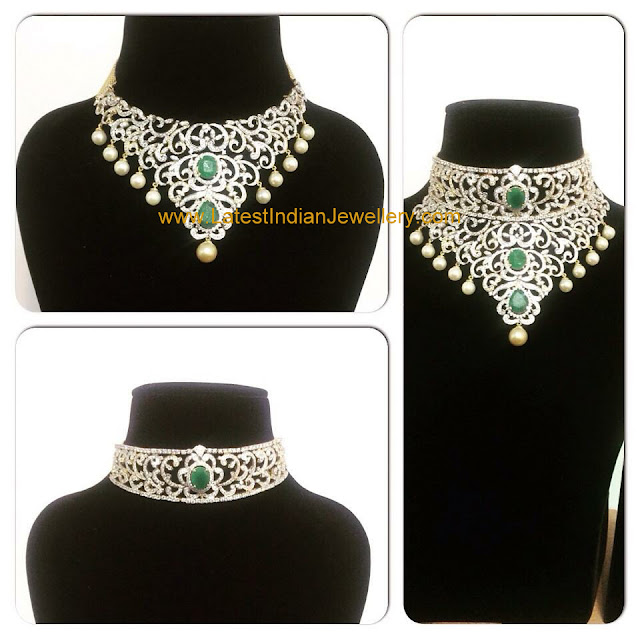 3 in 1 Indian Diamond Set