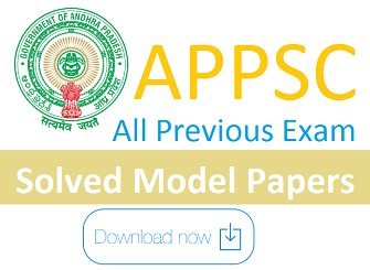 APPSC Model Papers 2016