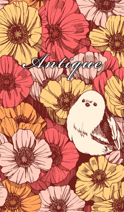BIRD & FLOWER & ANTIQUE