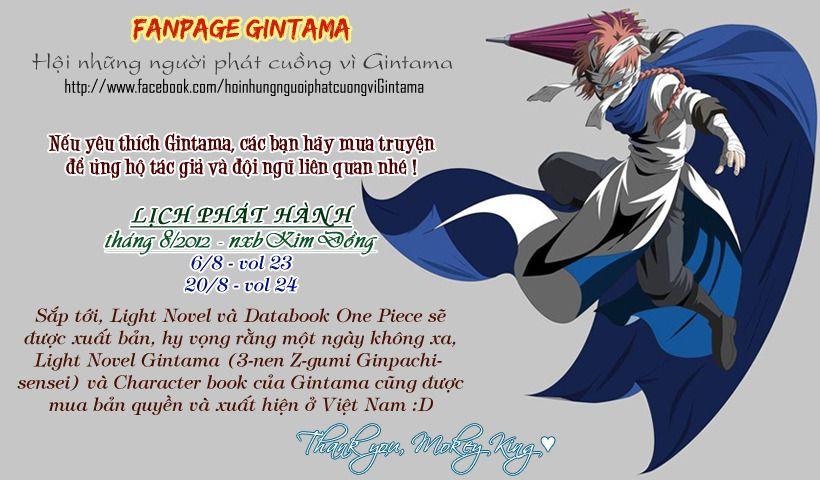 Gintama Chap 254 page 1 - Truyentranhaz.net
