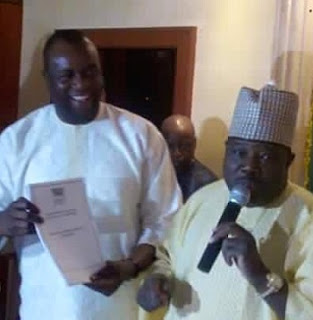 Mr. Matthew Iduoriyekemwen and ali modu sheriff