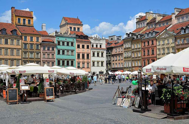 Plaza del Mercado de Varsovia, Polonia