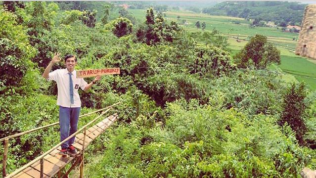 Lokasi Rumah Pohon Villa Bukit Asri Wates