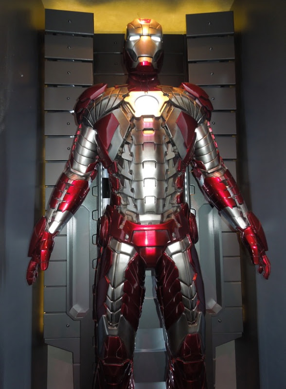 Iron Man 2 movie Mark V armour