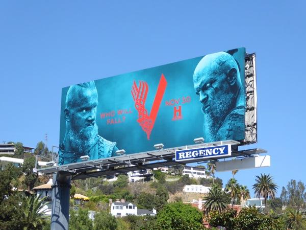 Vikings season 4 part 2 billboard