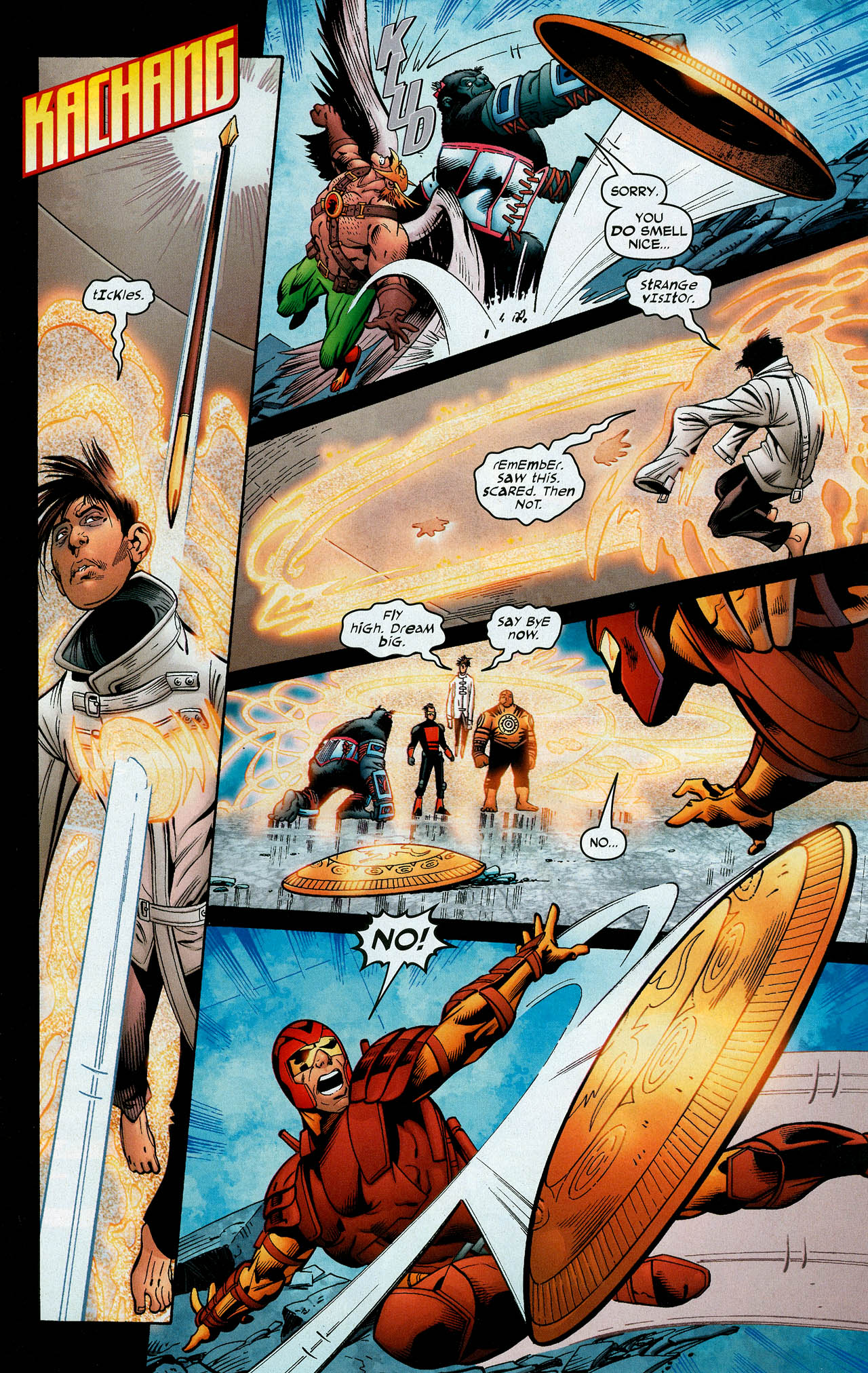 Read online Trinity (2008) comic -  Issue #11 - 30