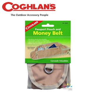 COGHLANS Passport Pouch and Money Belt