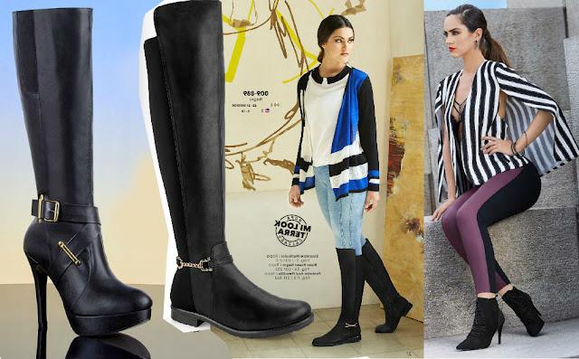 Botas de moda  damas  tipos y  estilos