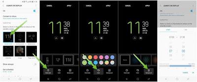 Custom AOD Overlay, Cara Menambahkan Gambar Pada Always on Display Samsung tanpa root