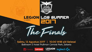 League of Legends Legion (LGS) Summer 2017 Segera Digelar