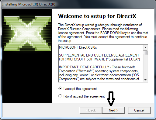 microsoft directx9 0c