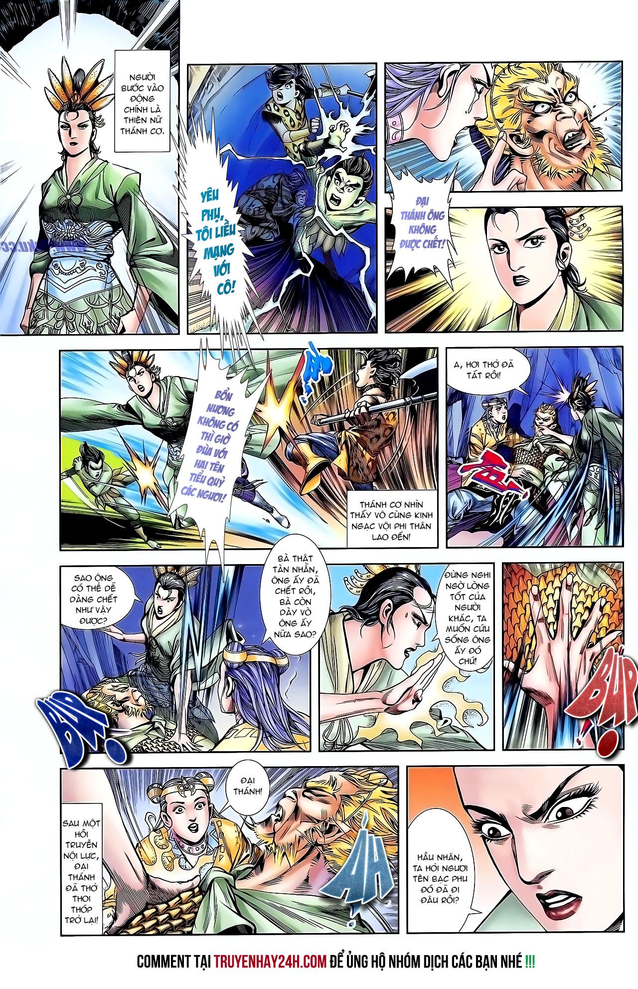 Cơ Phát Khai Chu Bản chapter 127 trang 25