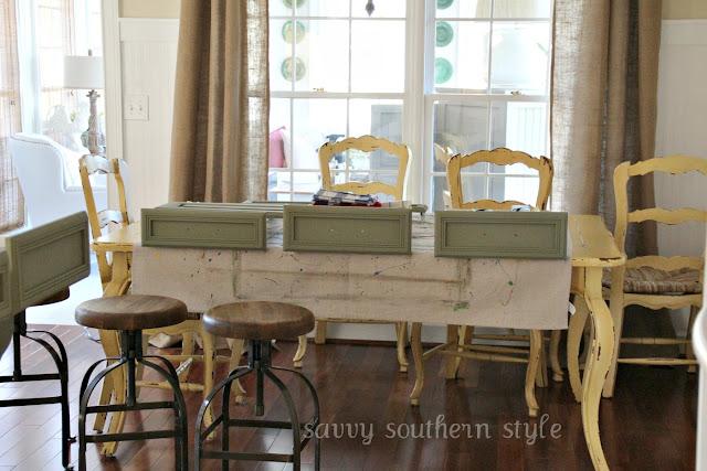Savvy Southern Style Kitchen Cabinets Tutorial
