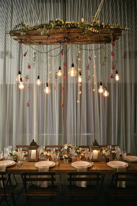 kāzu telpu apgaismojums