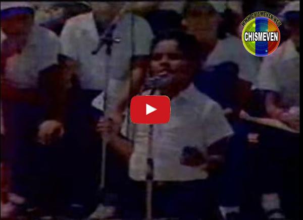 Murió Adrián Guacarán - El niño que le cantó al Papa