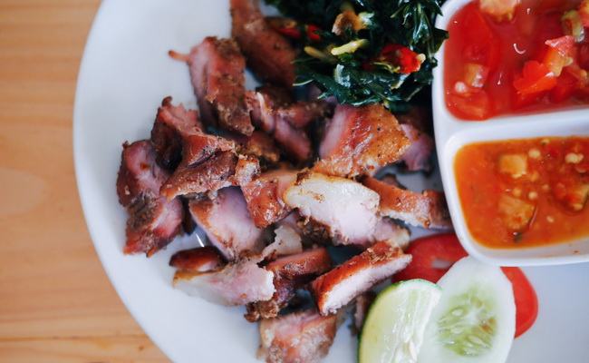 Xvlor.com Se'i is smoked bacon and traditional preserving meat by Timorese