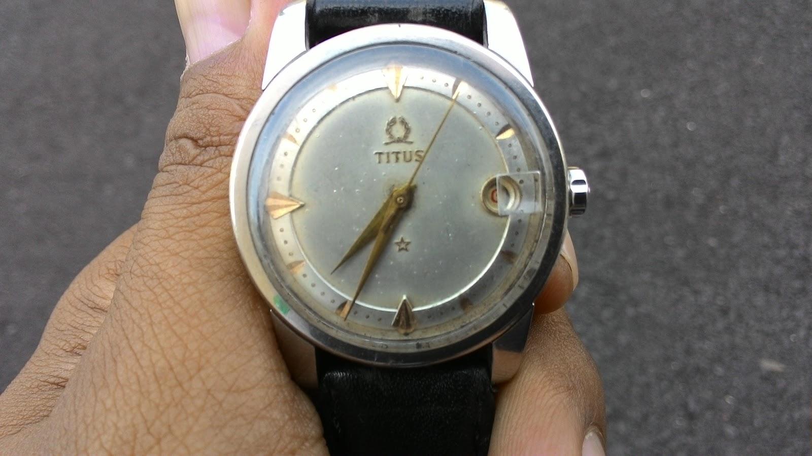 Barang Antik Jam Tangan Antik Jadul Merk Titus c24b9e14d7