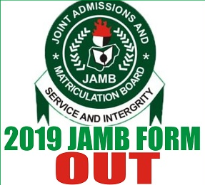 JAMB 2019,When Is Jamb Form Closing,JAMB form