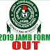2018/2019 Jamb Registration Form Is Out.