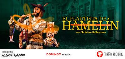 EL FLAUTISTA DE HAMELIN (TEATRO PARA LA FAMILIA)