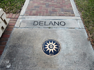 Delano Street Pavement Signage with Greater East End Emblem