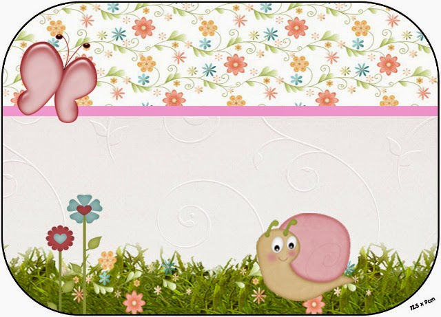 Snail in the Garden: Free Printable Party Kit..