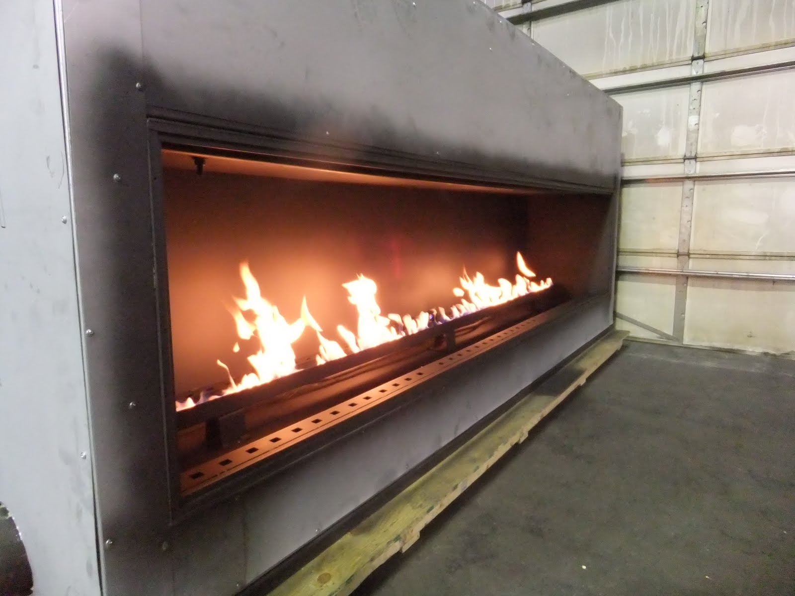 BURNER PANS AND GAS FIREPLACES  Fireplaces