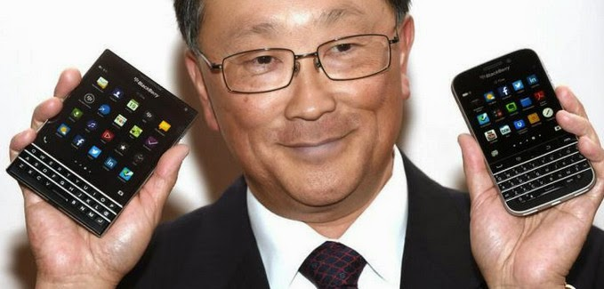 New BlackBerry CEO, John Chen, BlackBerry Passport, BlackBerry Classic