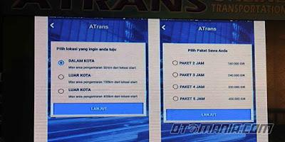 skema tarif atrans berdasarkan waktu perjam yang di bandrol 80ribu