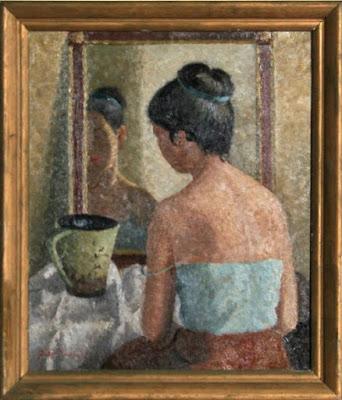femeie-in-fata-oglinzii-yasuo-kuniyoshi-1945