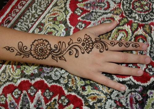 Mehndi For Eid : Beautiful pakistani eid mehndi new style designs and