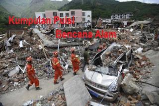 Puisi Bencana Alam : Gempa Bumi dan Gunung Merapi