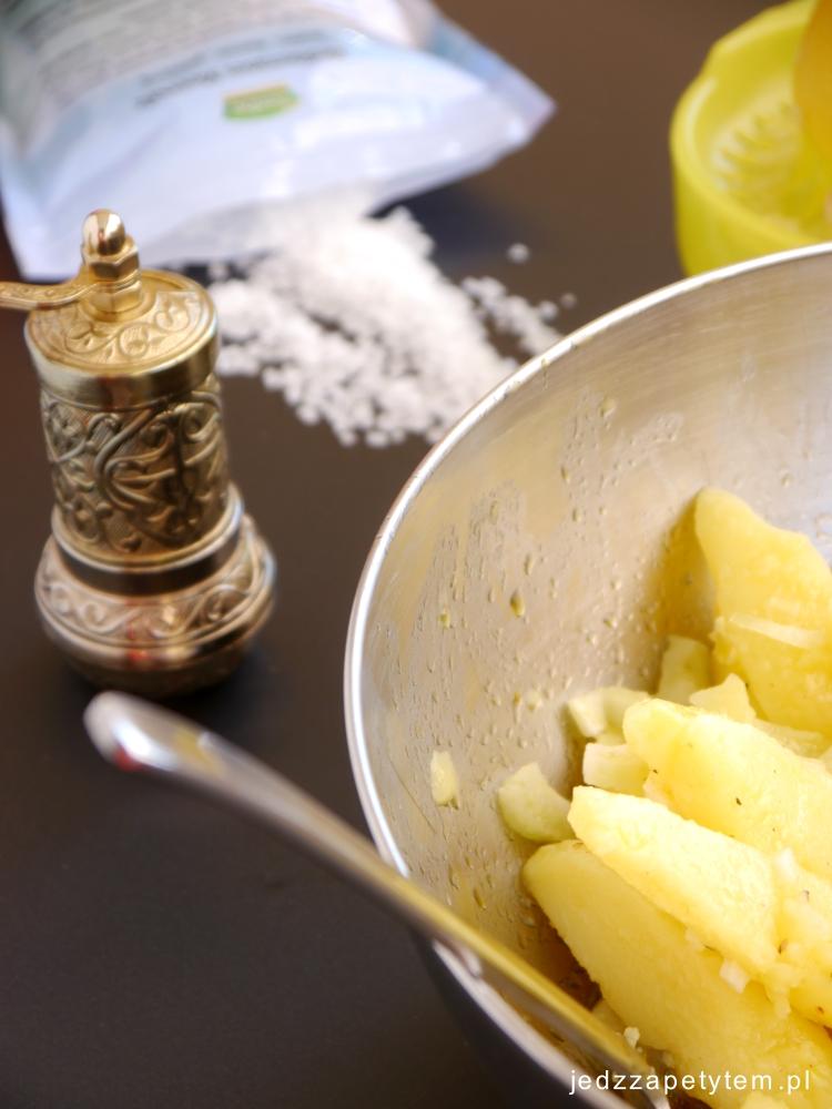 libańska sałatka z ziemniaków